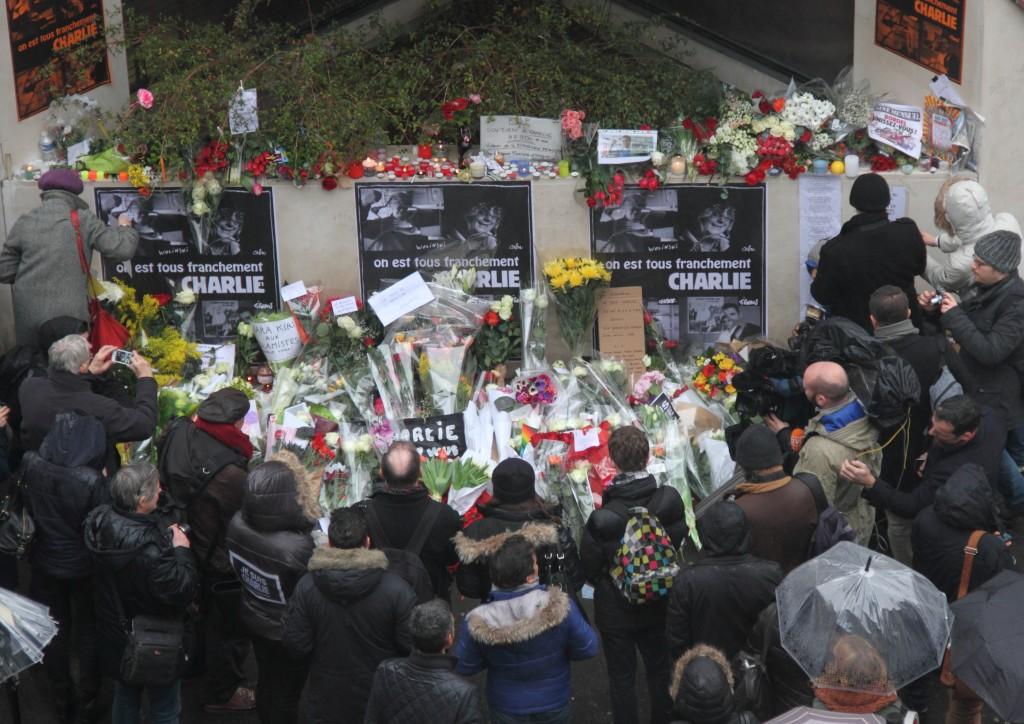 Mémorial Charlie Hebdo